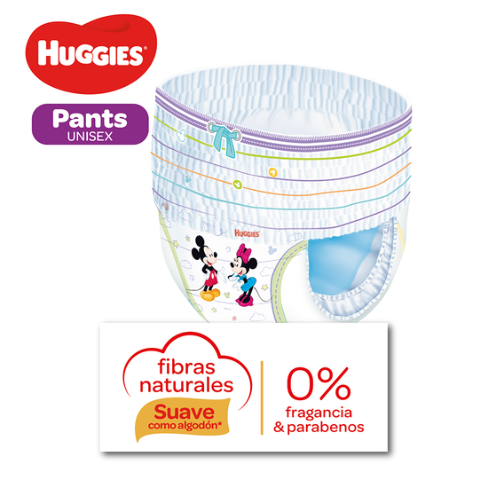 Pants Huggies Natural Care Talla M - 38uds