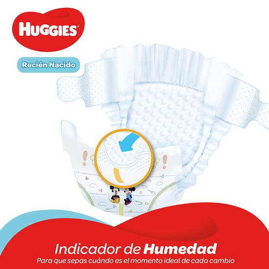 Pañales Huggies Natural Care Recien Nacido - 40uds
