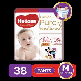 Pants Huggies Natural Care Talla M - 38uds