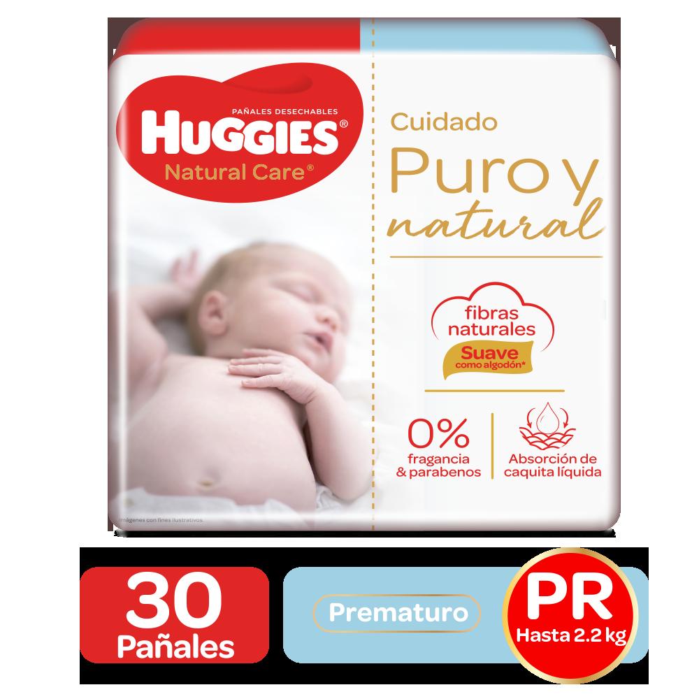 Pañales Huggies Natural Care Prematuro - 30uds